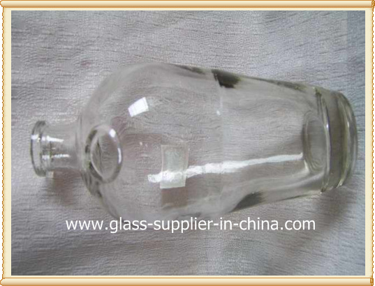 Bath glass bottle