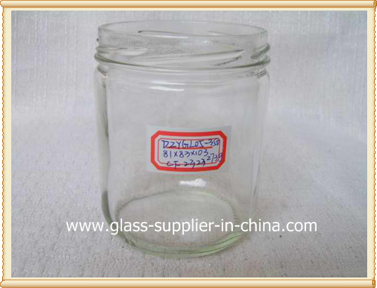 glass yoghourt jar