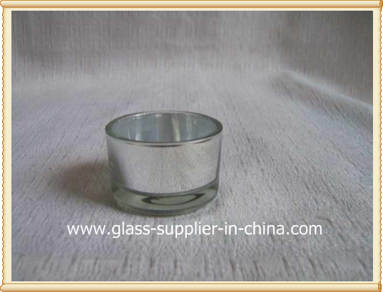silvering tea light holder