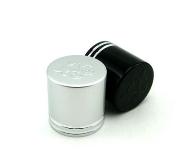 ALC-01923 19 mm aluminium cap embossing and debossing available1