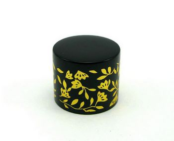 metal gift cap for perfume