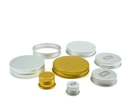aluminium screw cap collection